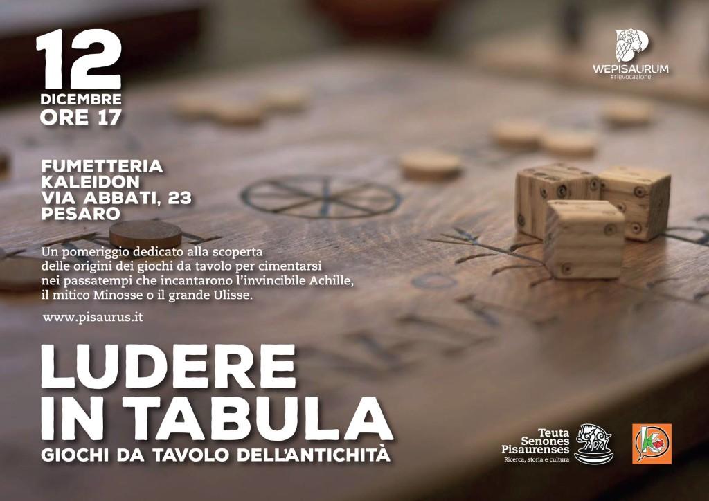 ludere in tabula - giochi da tavolo dell'antichità